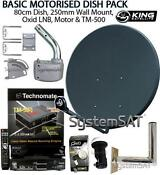 80cm Motorised Satellite Dish
