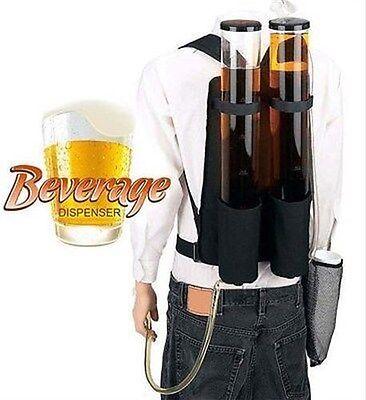 Dual Backpack Tapper Dispenser 200 fl oz Tap Tapper Back Beer Beverage Parade