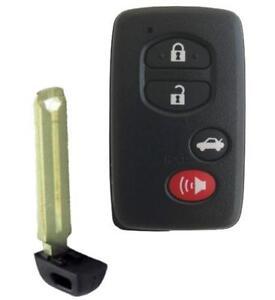 toyota smart key keyless entry remote fob ebay. Black Bedroom Furniture Sets. Home Design Ideas