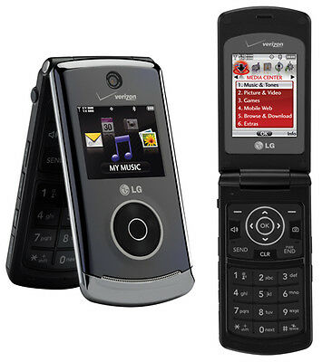 LG Chocolate 3 VX8560 - Black (Verizon) Cellular Phone Page Plus Straight Talk