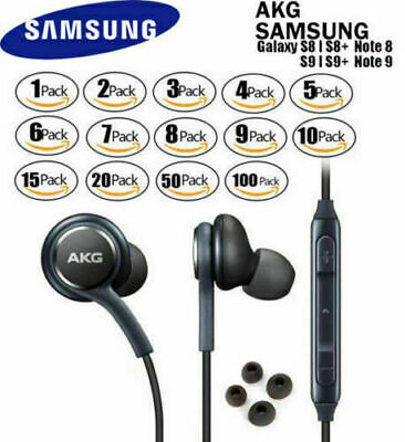 Orginal Genuine Samsung OEM AKG Stereo Headphones Earphones In Ear Earbuds Lot