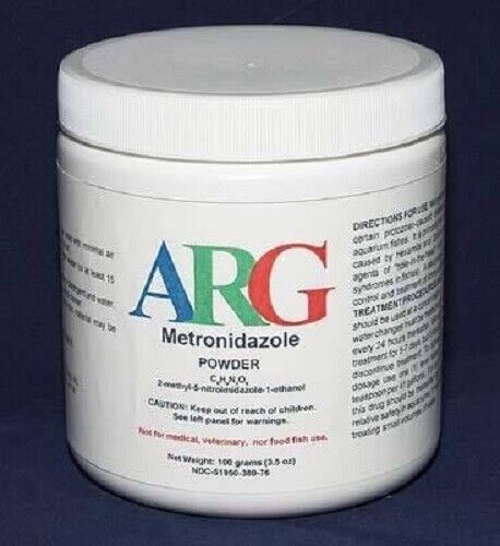METRO ANTI PARASITIC Aquarium Fish Disease Medication 100 GM  AQUASCIENCE