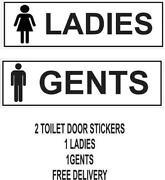 Ladies Gents Toilet Signs