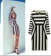 Black and White Stripe Dress 10