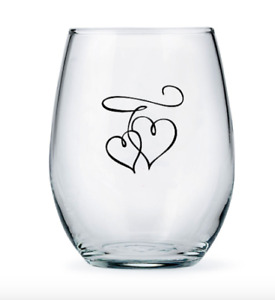 Wedding Favours - Large Stemless Wine Glasses