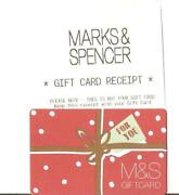 Marks Spencer Gift Card
