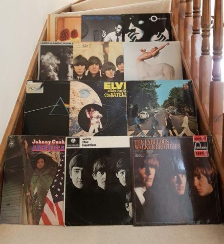 FOR SALE 12 x CLASSIC ROCK VINYL RECORD LP JOB LOT BEATLES ELVIS PINK FLOYD  COLLECTION | in Henlow, Bedfordshire | Gumtree