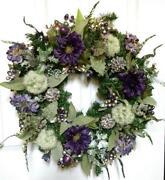 Shabby Chic Christmas Wreath