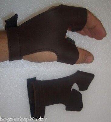 Bogenhandschuh NEUDORF Leder S  LINKE HAND hält d Bogen Bogensport Traditionell
