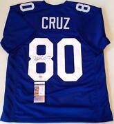 Victor Cruz Signed Jersey