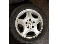 Mercedes Benz A Class x4 16inch Tyres & Alloys