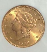 20 Dollar Liberty Gold Coin