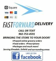 Food Delivery Service Elmsdale, Enfield & surrounding areas