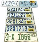 Motorcycle License Plate Lot