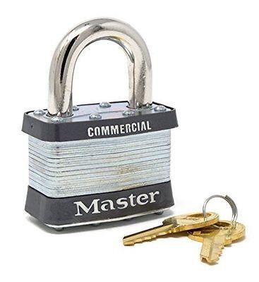 New Master Lock - 5ka - 2 Commercial Padlock W A445 Keys
