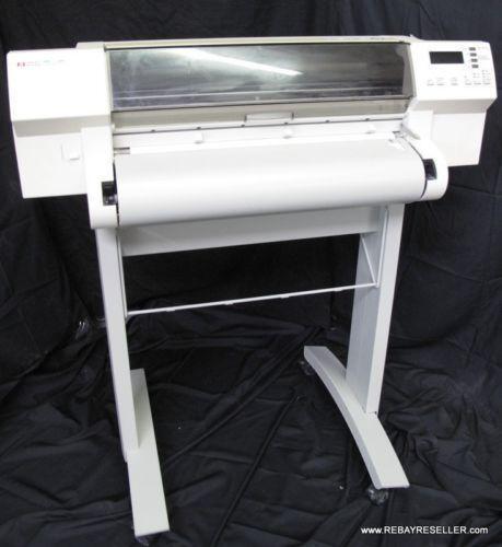 hp 750c plotter ebay. Black Bedroom Furniture Sets. Home Design Ideas