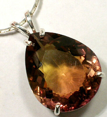 21ct Handcrafted Ametrine Amethyst Citrine Gem of Medieval Scotland India Persia