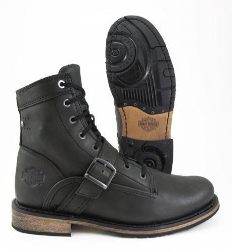 Harley Davidson Side Zip Boots Ebay