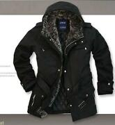 Mens Winter Coat Hoodie