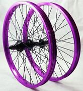 Purple BMX Wheels