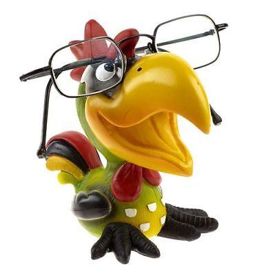 Tierischer Brillenhalter Tukan NEU lustige Brillennase Vogel Brillenablage bunt