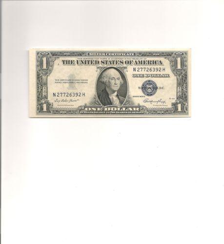 1 Dollar 1935 D Silver Certificate