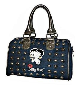 9b74a34551 Blue Betty Boop Purse