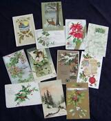 Antique Vintage Christmas Postcards