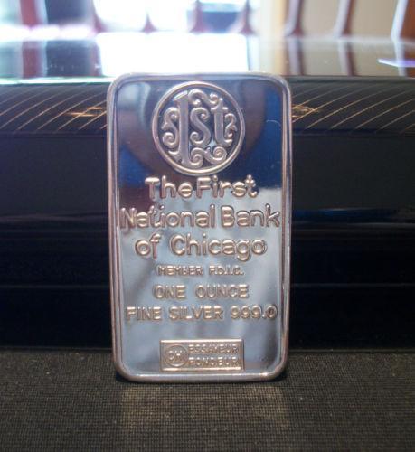 1 Oz Silver Bar National Ebay