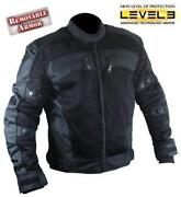 Mens Mesh Motorcycle Jacket