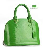 Green Patent Purse