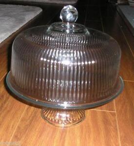 covered cake plate ebay. Black Bedroom Furniture Sets. Home Design Ideas