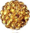 10mm Crystal Spacer Beads