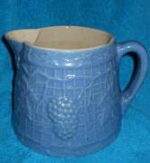 Grape Stoneware Pitcher
