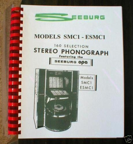 Seeburg Model SMC1 - ESMC1 Disco Jukebox Manual