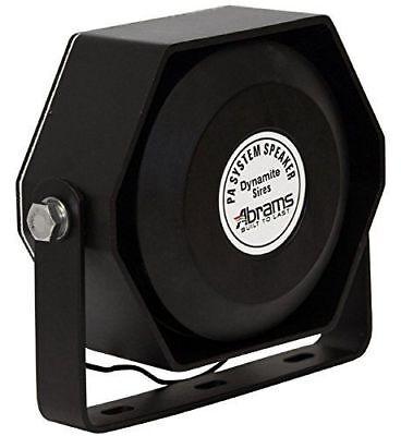 Abrams Ultra Compact 100w 100 Watt Siren Speaker High Performance 5year Warranty