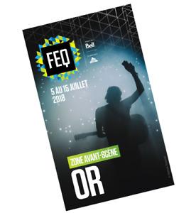 FEQ - Festival d'été de Québec - Avant-scène OR