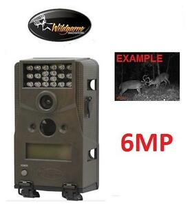NEW WI TRAIL 6MP INFRARED CAMERA - 114720353 - WILDGAME INNOVATIONS BLADE6 40' FLASH RANGE