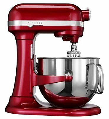 مضرب كهربائي  KitchenAid Rkp26m1xCA Professional 600 Stand Mixer 6 quart 10-SP Candy Apple Red