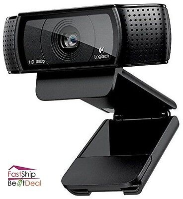 Logitech Webcam Full Hd 1080P Widescreen Video Chat Calling Recording Conference