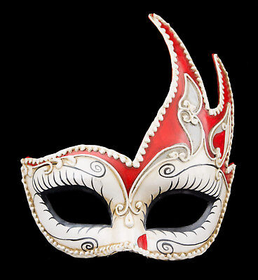 Mask from Venice Colombine Swan Gwendoline in Paper Mache 22285 VPM3