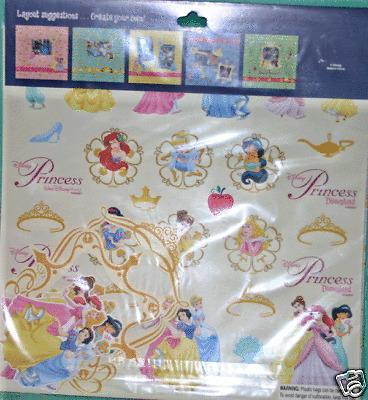 Disney World Scrapbooking (DISNEY PARKS PRINCESS SCRAPBOOKING KIT DISNEY WORLD DISNEYLAND SCRAPBOOKING KIT )