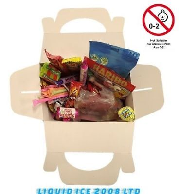 Mix Sweets Gift Box - RETRO MIX SWEETS GIFT BOX SWEET HAMPER CANDY TREATS PRESENT BIRTHDAY KIDS PARTY