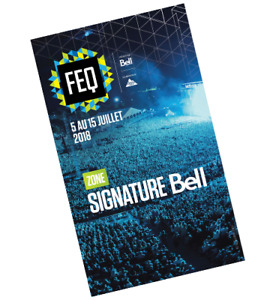 Excellentes passes zone signature FEQ 2018
