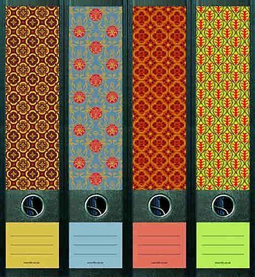 File Art 4 Design Ordner-Etiketten Pattern III...............................323