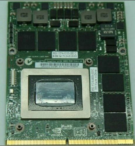 NVIDIA GeForce GTX675M MXM 3.0 Laptop Graphics Card