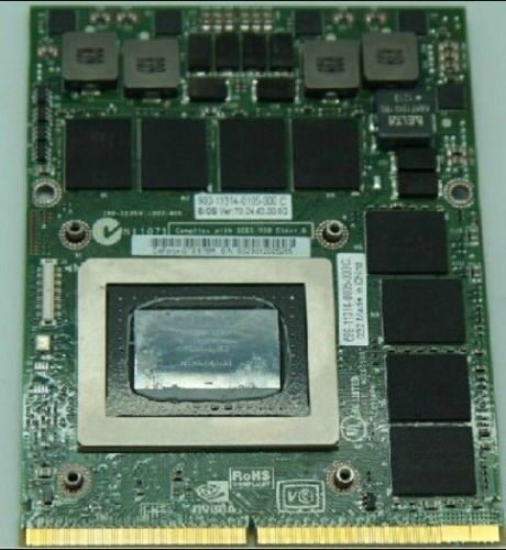 NVIDIA GeForce GTX675M MXM 3 0 Laptop Graphics Card | Cork | Gumtree
