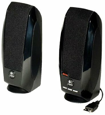 Logitech S150 USB Speakers with Digital Sound, For Computer, Desktop, or Laptop