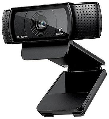 N Logitech C920 HD Pro Webcam Widescreen1080p Video Calling