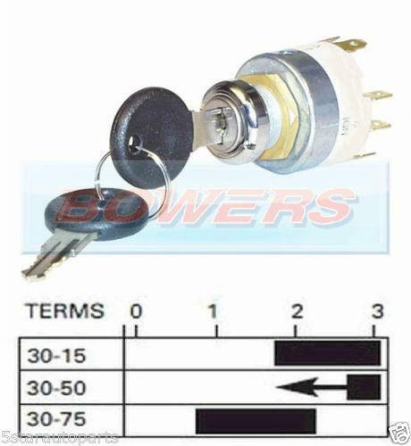 durite ignition switch wiring diagram durite image lucas ignition key vehicle parts accessories on durite ignition switch wiring diagram